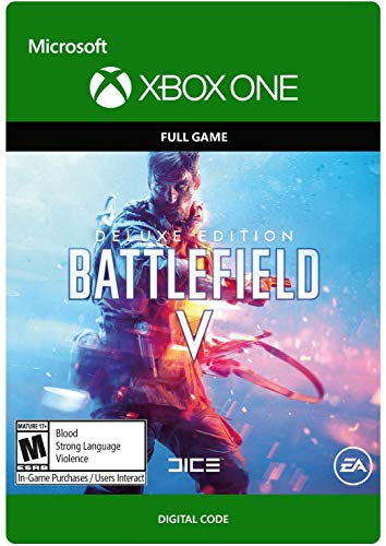 EA Battlefield V Deluxe Xbox One Download Code Only (NO CD/DVD)