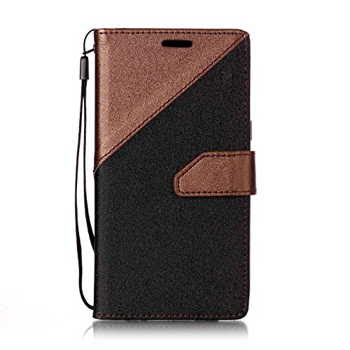 Bangcool Samsung Galaxy A5 2017 Cell Phone Case Contrast Colour Soft Flip Cover