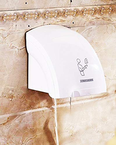 SMARTBUYER : Automatic Infared Sensor Warm Air Electric Wall Mounted 110V Hand Dryer for Household Hotel Commercial Electric Automatic Sensor Smart Choice Hand Dryer