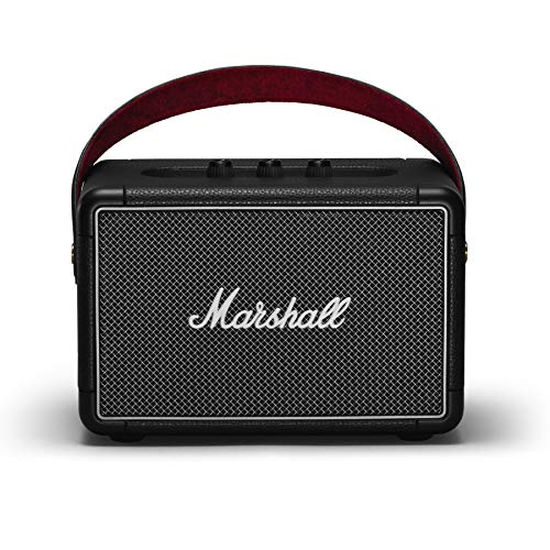 (Renewed) Marshall Kilburn II Portable Bluetooth Speaker (Black)