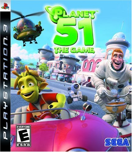 Sega Of America, Inc. Planet 51 - The Game (PS3)
