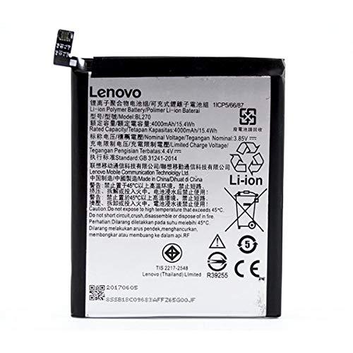 GKSALESS Mobile Battery for Lenovo K8 Note BL270
