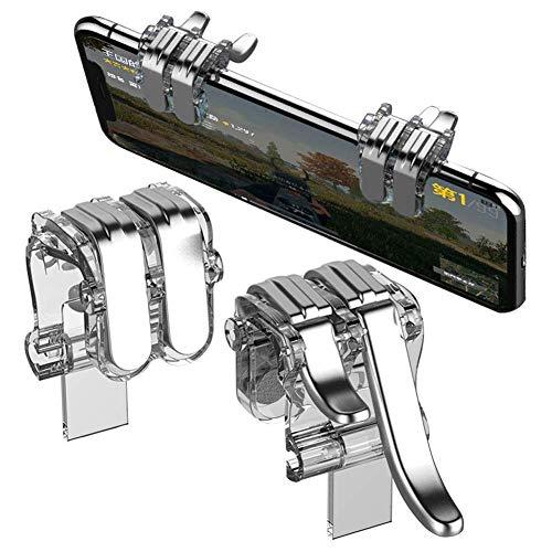 BKN® PUBG Trigger Shooter Controller Fire Button (Four Finger)