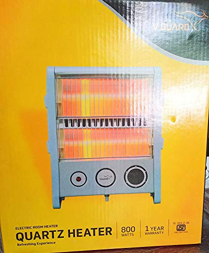 V-Guard 800-Watt Electric Quartz Room Heater RH2QT-1000