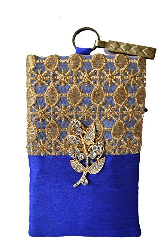Mahadev Exports Diamond Haf and Haf Hooked mob pouch mobile cover
