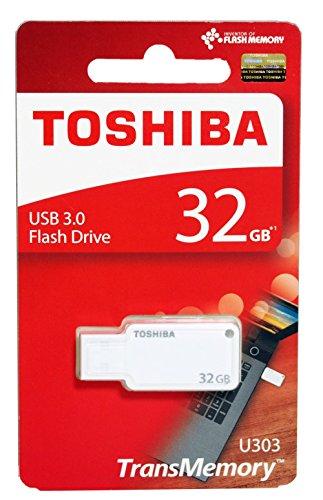 Toshiba Akatsuki 32GB USB Pendrive (White)