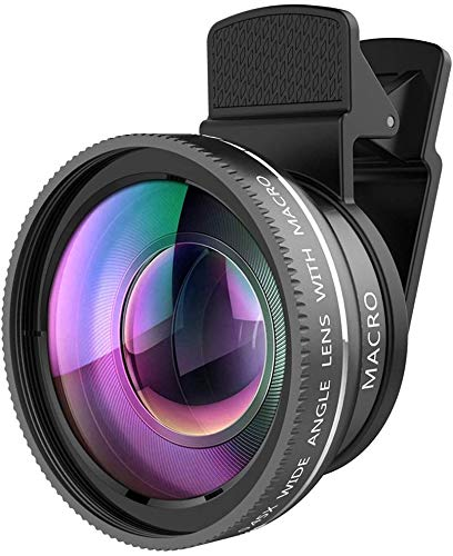 Generic 2-in-1 Camera Lens Kit for Smartphones (Multicolour)