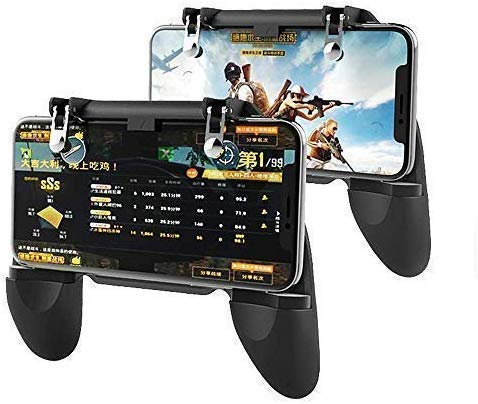 Global Household PUBG Trigger Controller,Mobile Game Joystick,PUBG Mobile Trigger,Mobile Remote Controller,Gamepad Holder Handle Joystick Triggers for iOS and Android