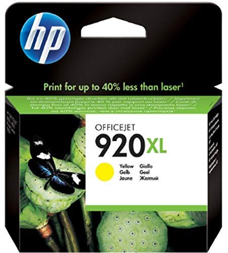 HP 920 XL Yellow Ink Cartridge CD974Y (CD974AA) 920XL