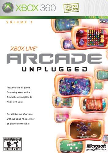 Microsoft Live Arcade Unplugged (Xbox 360)