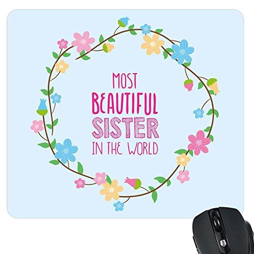 TheYaYaCafe YaYa Cafe Most Beautiful Sister World Printed Mousepad
