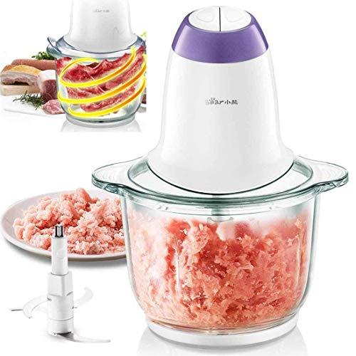 genrik grofly Electric Meat Grinder Machine Vegetable Chopper Cutter Mixer (350 wat, 2.5 L) | Multicolour