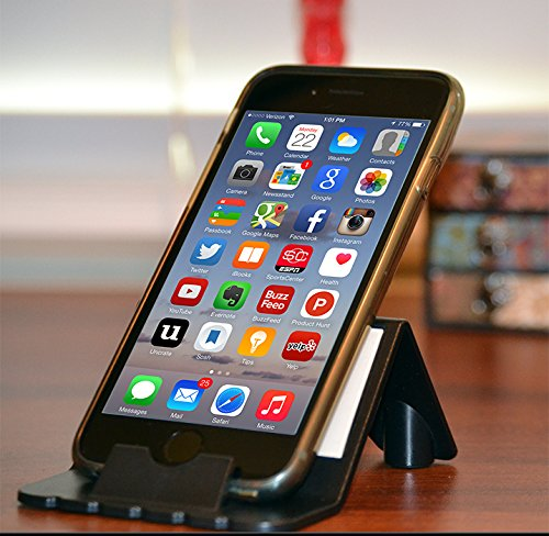 FoneStand - A stand for iPhones, iPods and many SmartPhones - BLACK