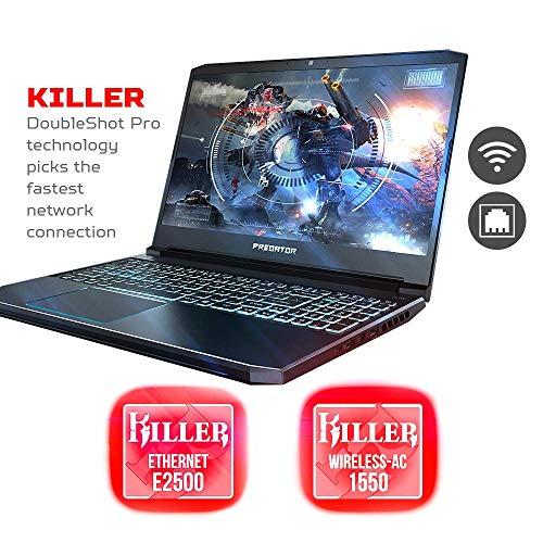 "Acer 2019 Predator Helios 15.6"" FHD IPS Display Gaming Laptop | Intel 6-Core i7-9750H | 32GB RAM | 512GB SSD + 1TB HDD | NVIDIA GeForce GTX 1660Ti 6GB | Backlit Keyboard | Windows 10"