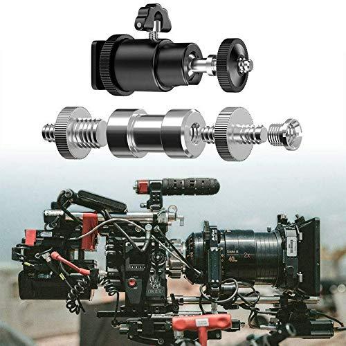 ELECTROPRIME Camera Screw, 21 Pcs 1/4 Inch 3/8 Inch Converter Threaded Screws 1/4inch Ho L7V7