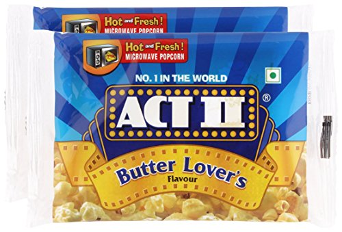 Star Combo - Act II Popcorn Butter Lover's, 33g (Pack of 2) Promo Pack