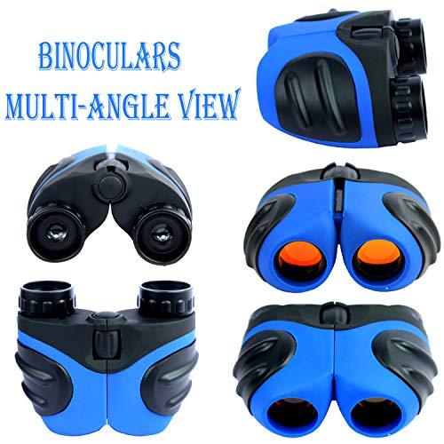 Frackkon 8x21 Monocular Foldable Binocular Telescope,HD Monocular Dual Focus Optics Zoom Portable HD Optical for Wildlife Hunting Watching Live Concert 128M/1000M (Pack of 1)