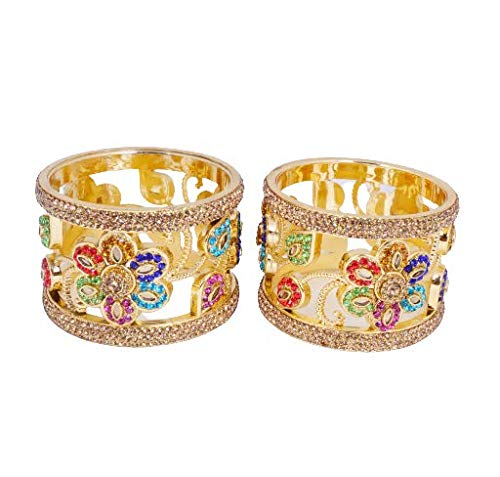 SHRISHA CREATION Beautiful gold plated colorfull bangles for women and girls