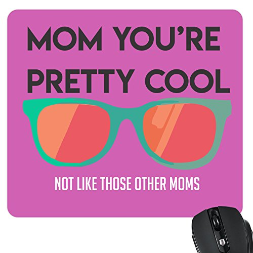 TheYaYaCafe Cool Mom Mousepad for Mother Birthday Gifts