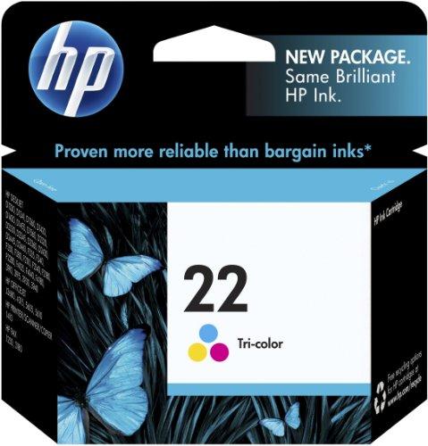 HP 22 Inkjet Print Cartridge - Tri Colour