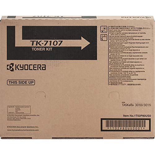 Genuine Kyocera Mita TK-7107 Black Toner Cartridge For Taskalfa 3010I 1T02P80US0
