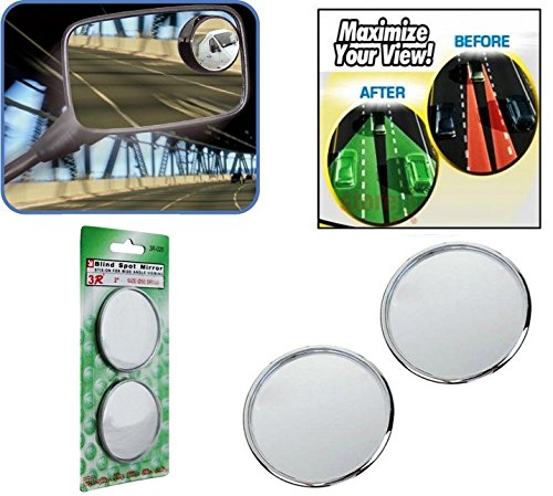 AutoStark Blind Spot Convex Rear View Mirror for Bajaj CT100