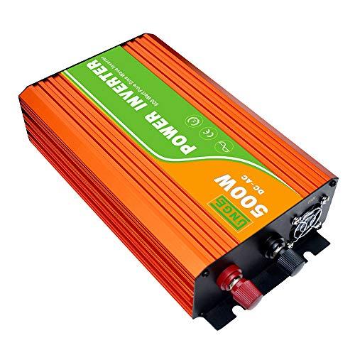 Andoer Continuous Pure Sine Wave Inverter 220V 300W High Frequency Surge Peak Power Watt Power Inverter USB Port