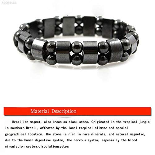 ELECTROPRIME 0DB0 Hand Chain Magnetic Women Bangle Health Care Black