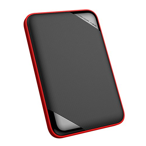 """Silicon Power 1TB Rugged Armor A62S Shockproof/ IPX4 Water-Resistant/Dustproof/Anti-Scratch USB 3.0 2.5"""" Portable External Hard Drive HDD for for PC, Mac, Xbox and PS4"""