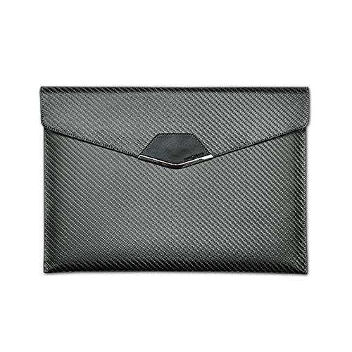 "monCarbone carbon fiber scenario monCarbone Sleek Elite Protective Carbon Fiber Laptop/Tablet Sleeve Travel Bag Water Repellent - iPad Pro 12.9"""