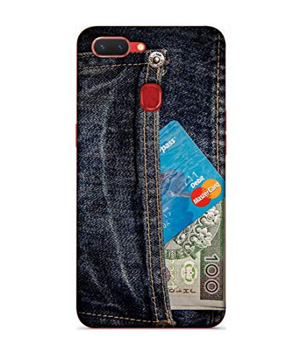 S SMARTY Money ATM Jeans Printed Hard Case Mobile Back Cover for Realme 2
