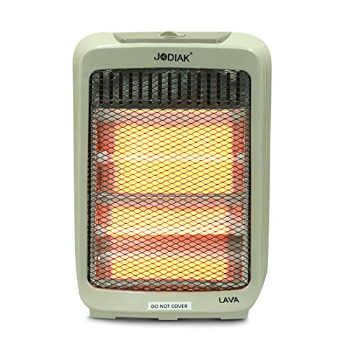 MUCH-MORE™ 800-Watt 2 Rod Electric Room Heater (ISI certified) Ideal for small to medium room/area (Color May Vary)