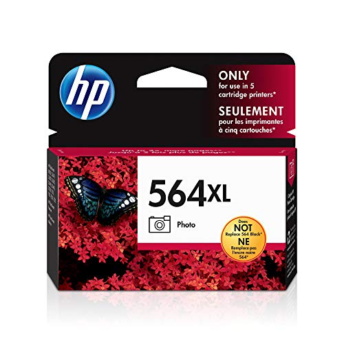HP 564XL Photo Ink Cartridge in Retail Packaging (CB322WN#140)