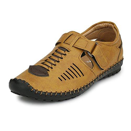 SHOE DAY Men's TAN Roman Sandal