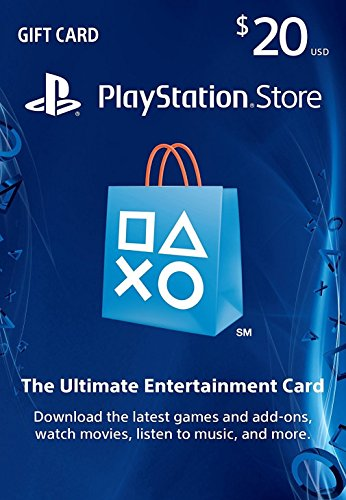 Sony $20 PlayStation Store Gift Card (US PSN Only)