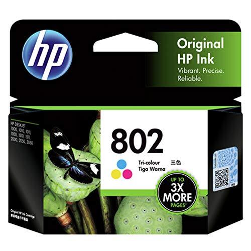 HP 802 Ink Cartridge - Tri color