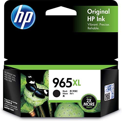 HP 965XL Black Ink Cartridge.