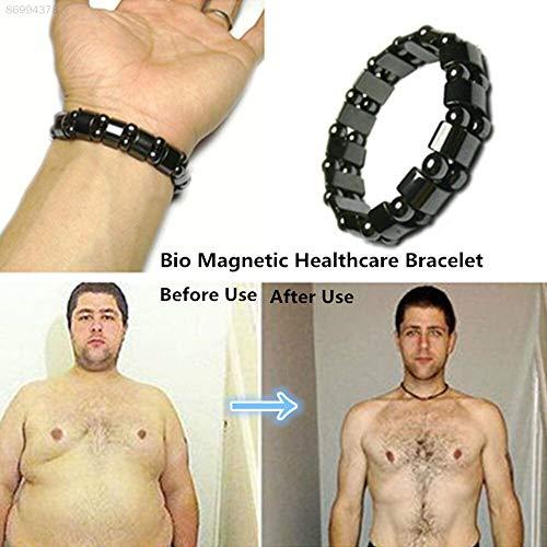 ELECTROPRIME FDB1 Bracelet Magnetic Therapy Bangle Fashion Black