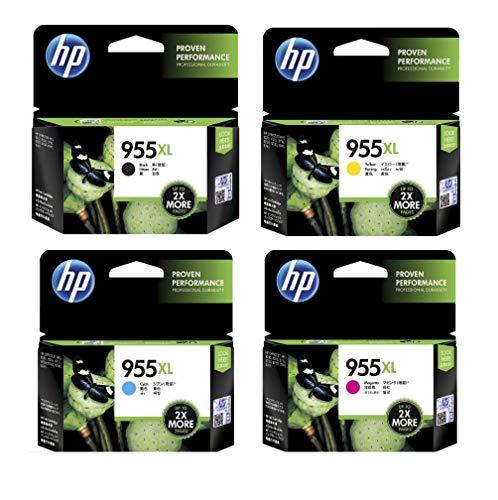 HP 955 XL B/C/M/Y Combo Set of 4 (955XL)