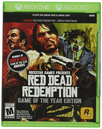 Take 2 Red Dead Redemption: Game of the Year Edition - Xbox One and Xbox 360