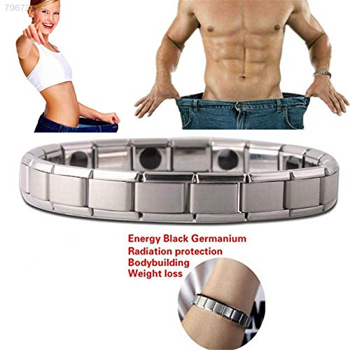 ELECTROPRIME 2B83 Bracelet Bangle LH Hematite Women Accessories Silvery Jewelry Health Care
