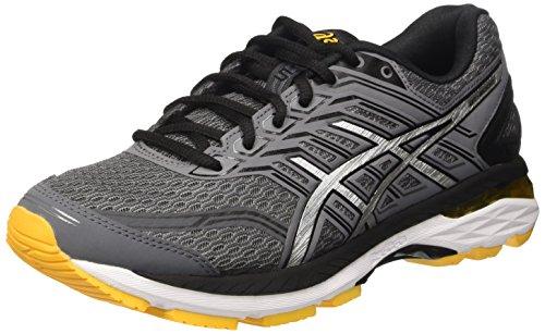 ASICS Men's Gt-2000 5 Carbon/Black/Gold Fusion Running Shoes - 11 UK/India (46.5 EU)(12 US)