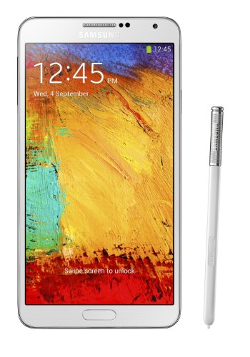 Samsung Galaxy Note 3 III N900 32gb White Factory Unlocked Android Cell Phone
