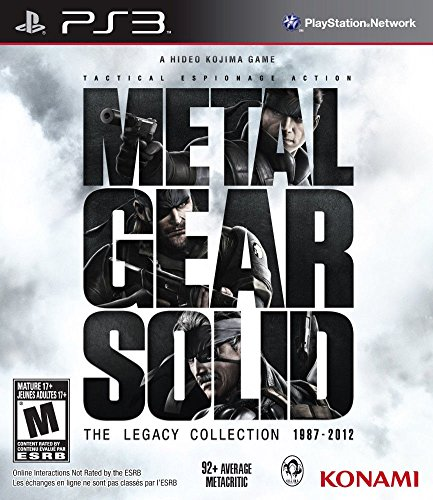 Konami Metal Gear Solid: The Legacy Collection (PS3)