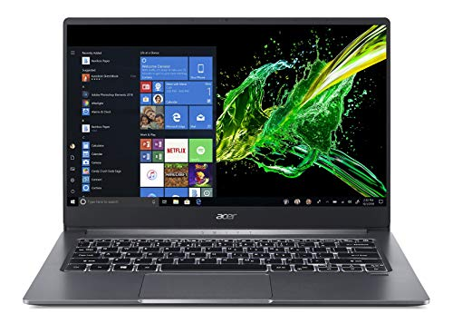 Acer Swift 3 10 Gen Core i5 14-inch Ultra Thin and Light (8GB/512GB SSD/Windows 10/2GB Graphics/Steel Grey/1.19 kg), SF314-57G