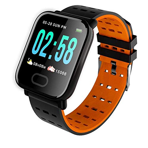 Ardilla Smart Band Bluetooth Smartband Compatible with All Mobile Phones Wireless Bluetooth A6 Fitness Band