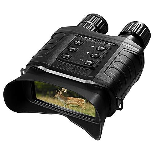 KKmoon-1 Night Vision Binoculars 4X Digital IR Night Vision Scope with 500m Full Dark Distance Camera Video Modes 32GB TF Card Included