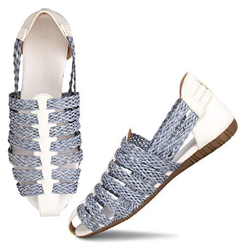 Fashimo Fashion Sandals For Women's 785-White-36