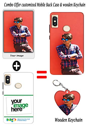 Khaderz Printshop Combo Customized Mobile Back Case Plus with Wooden Keychain