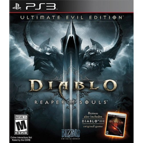 Blizzard Diablo III: Reaper of Souls Ultimate Evil Edition (PS3)